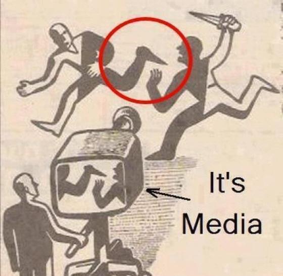 メディアの捏造